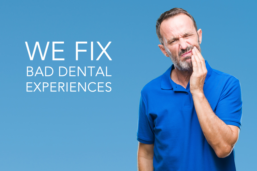 we fix bad dentistry