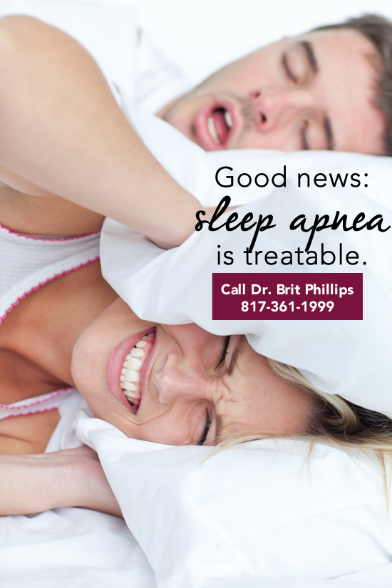 dental treatment sleep apnea ft worth