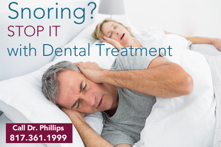 dental treatment for snoring