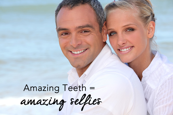 amazing teeth equals amazing selfies