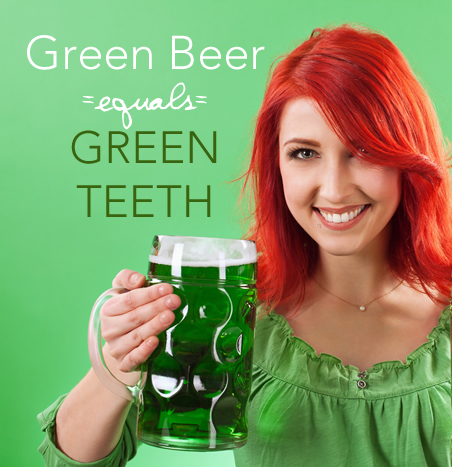 green drinks turn teeth green