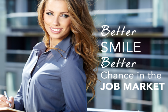 Better Smile Better Chance in Job Market