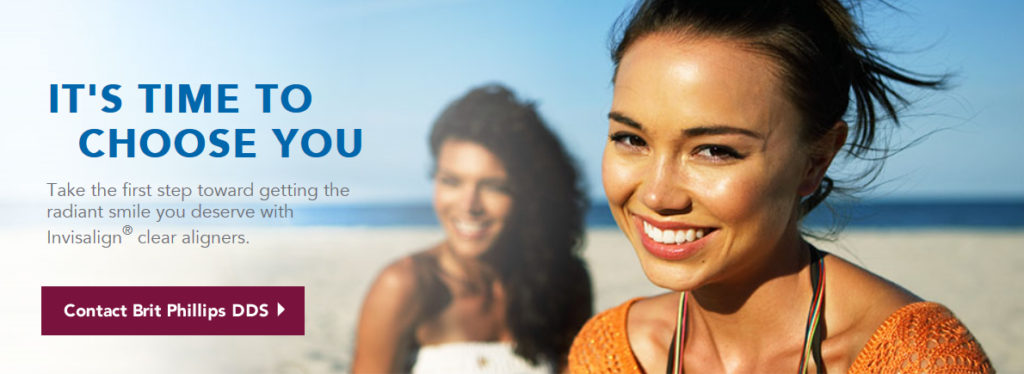 radiant smile with invisalign