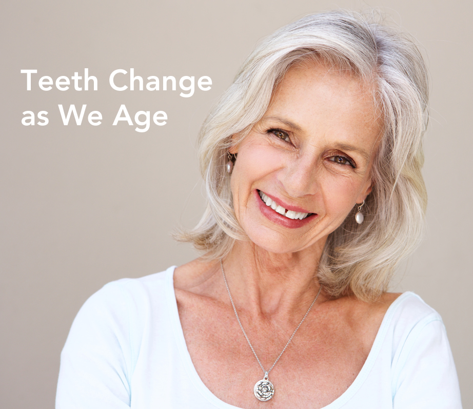 teeth change with age