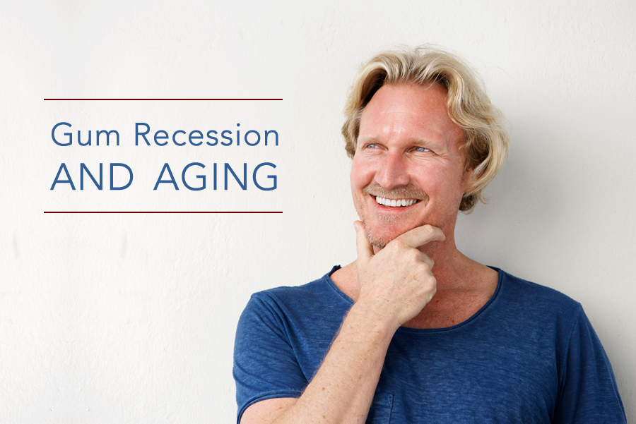 gum recession and aging