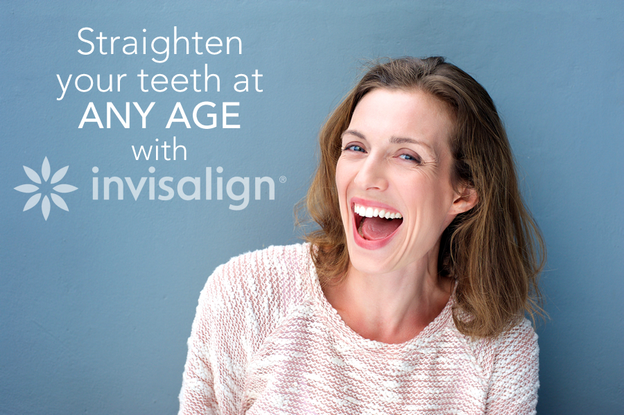 straighten your teeth at any age