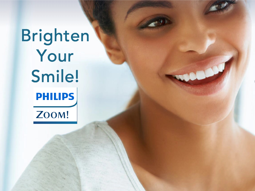 Unleash a Whiter, Healthier Smile With Philips Zoom Professional Teeth Whitening!