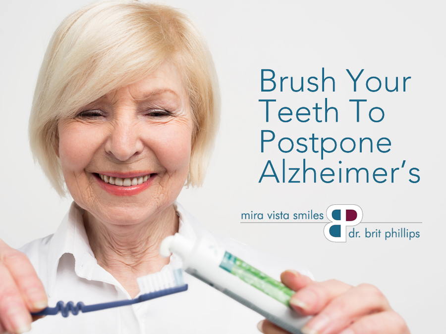 Brush Your Teeth To Postpone Alzheimer's