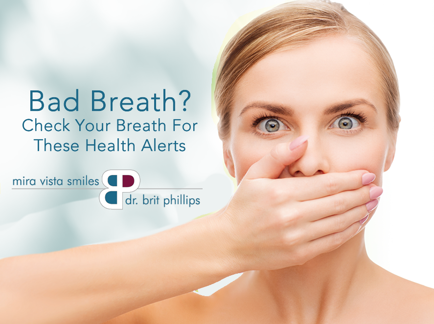 Check Your Breath For These Health Alerts