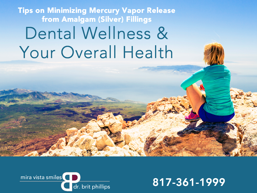 How To Minimize Mercury Vapor From Amalgam Fillings