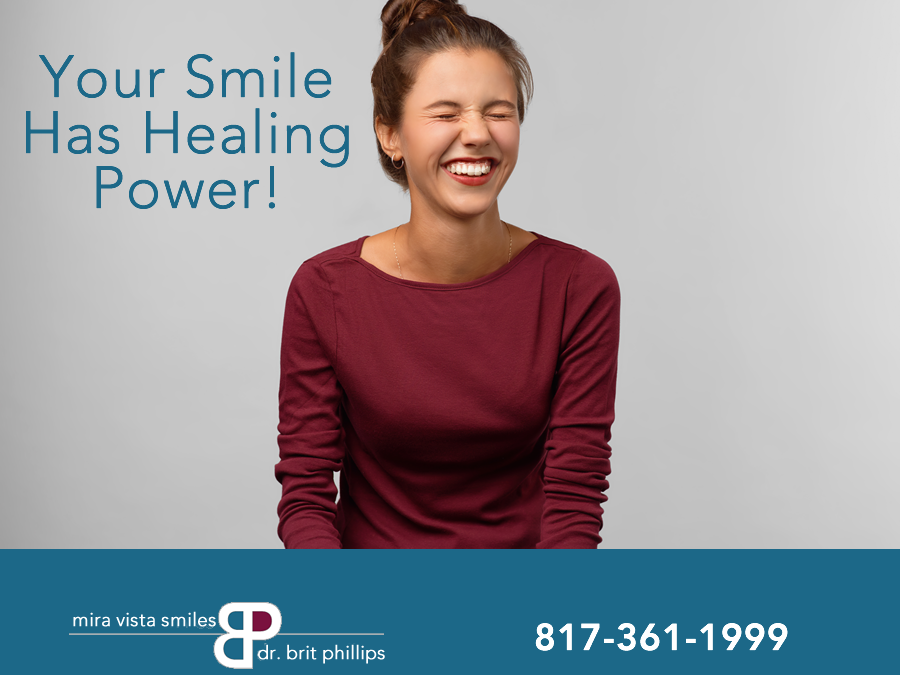 smiles healing power