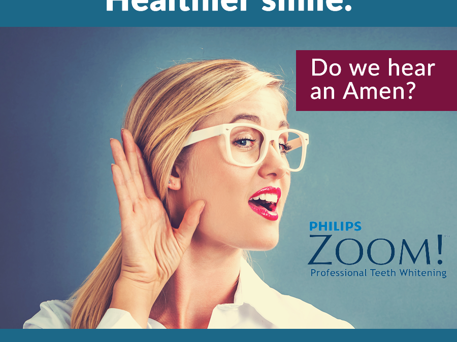 Whiter teeth equals healthier smile
