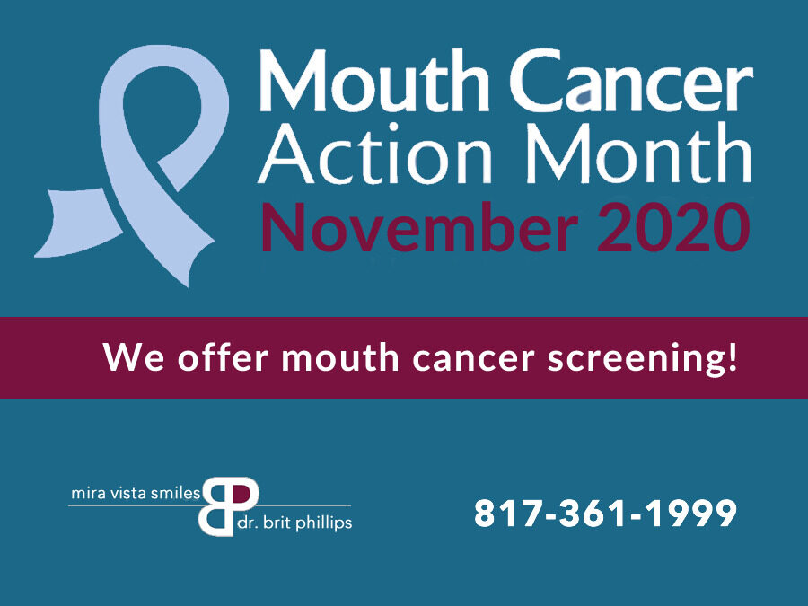 National Mouth Cancer Awareness Month
